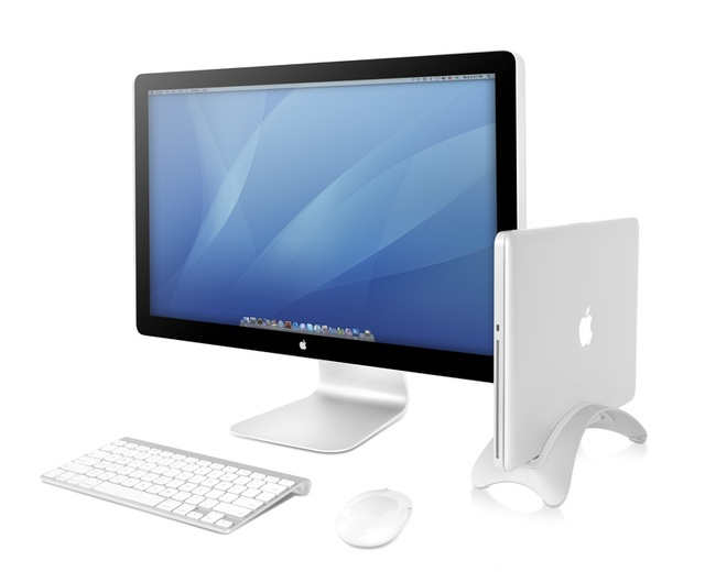 BookArc Stand Turns a MacBook Into a Desktop