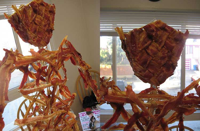 10 Meat Structures That Require Engineering Degrees to Build and a Death Wish to Eat
