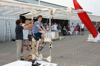 Pedal-Powered Balsa Wood Plane Gallery