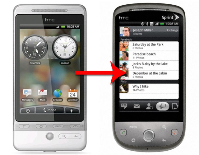 HTC Hero Hits Sprint Oct. 11 With New Face, $180 Price Tag