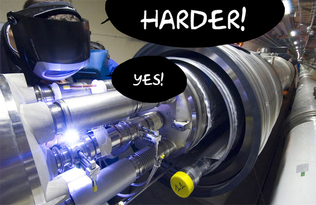 Convincing Your Girlfriend to Put Out on Film Because of the LHC Doomsday Is a Bad Idea