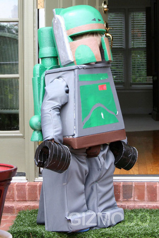 Lego Boba Fett Costume Owns All Star Wars Costumes to Date