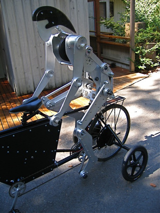Robot Actually Pedals on Tandem Bike Behind Its Maker