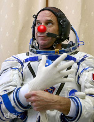 """First Clown In Space"" May Also Become First Space Murder Victim"