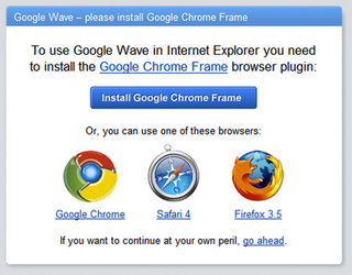 Internet Explorer, Now Powered by Google Chrome