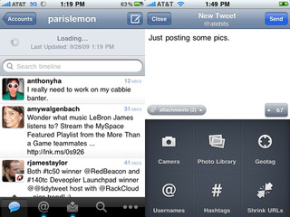 Tweetie 2 for iPhone: Full Offline Powers, Filters and Push Notifications