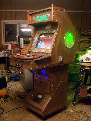 The Dr. Frankenstein MAME Cabinet