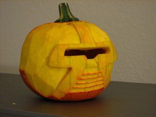 Cylon Pumpkin Gallery
