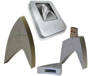 4GB Star Trek Flash Drive Comes Loaded With The New Film
