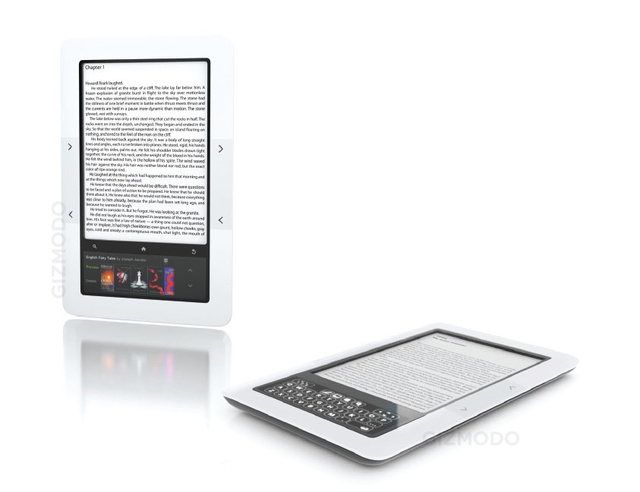 Exclusive: First Photos of Barnes & Noble's Double Screen E-Reader
