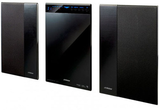Victor JVC Home Theater Audio System Is But an Inch Thick