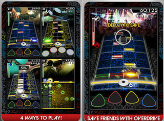 Now Available: Rock Band for iPhone and iPod touch