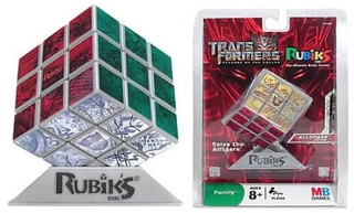 Transformers AllSpark Rubiks Cube Really Needs a Robot To Solve