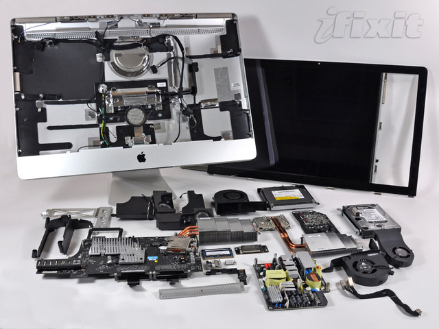 iMac Teardown Reveals What Apple Hides Behind Its Logo