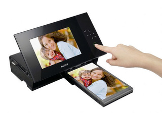 Sony S-Frame DPP-F700 Digital Photo Frame/Printer: $200 in January