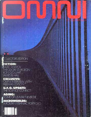 Omni Magazine Covers Gallery