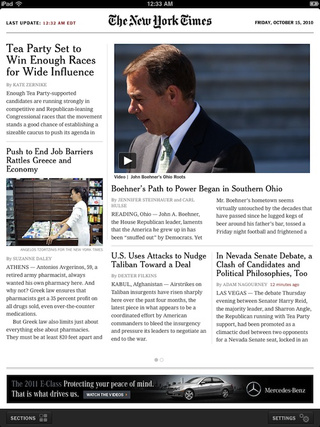 The Real New York Times for iPad Is Here (and It's Free)