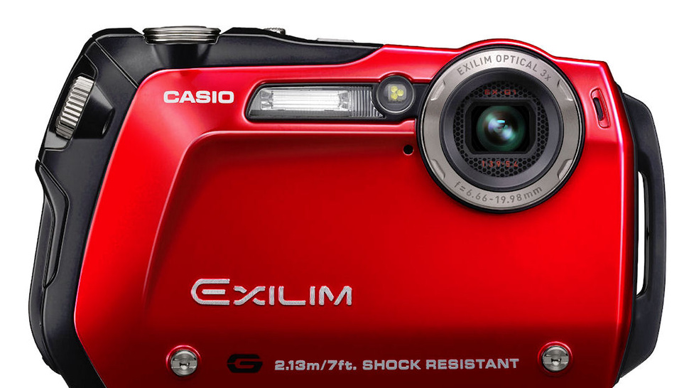 Casio's EX-G1 Super Slim Shooter: Shock-Resistant and Waterproof