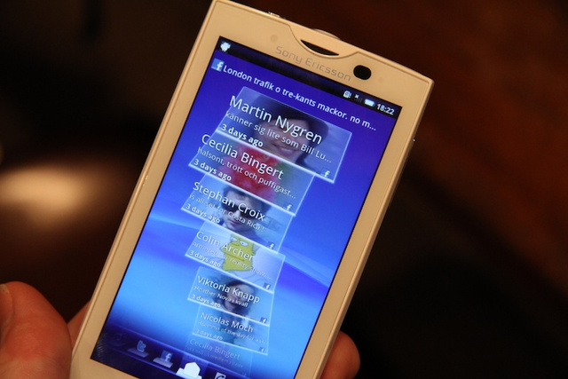 Sony Ericsson Xperia X10 Hands On: Why Aren't My Pants on Fire?