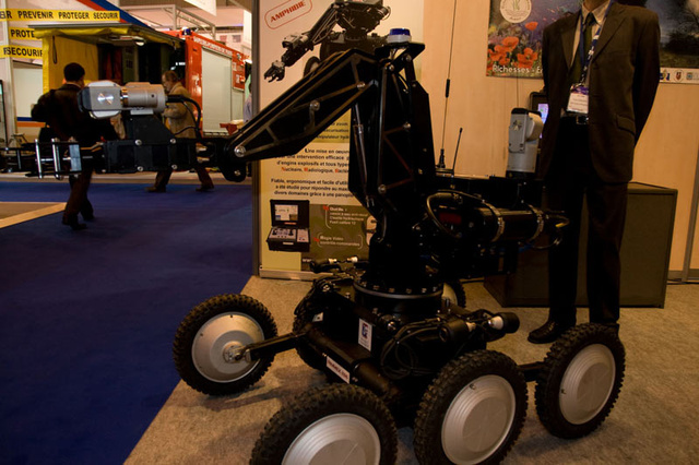Insane Weapons, Robots and Spy Gear from the Paris Military-Police Expo