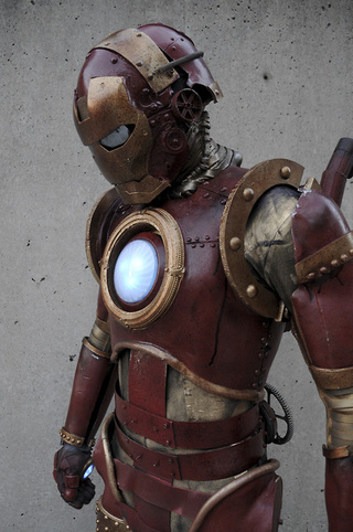 Steam Punk Iron Man Suit Is What Tony Stark's Great Great Grandpa Wore
