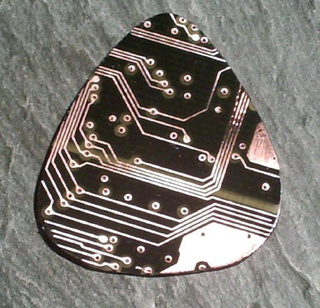 Shred Like a Geek: Recycled Circuit Board Guitar Picks