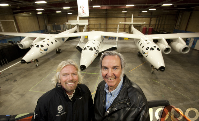 Virgin SpaceShipTwo Gallery