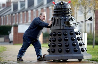 Man Builds Full-Size Dalek and Wonders Why He's All Alone