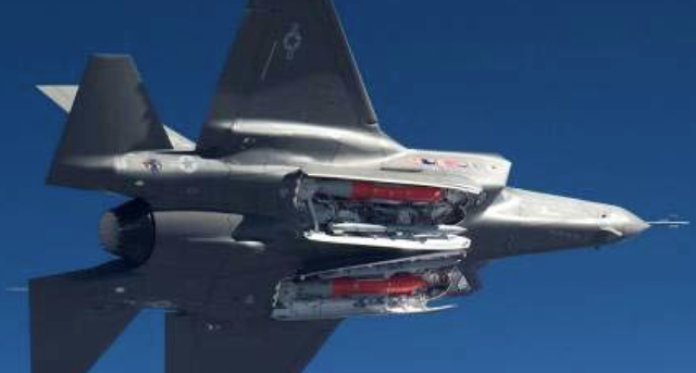First View of the F-35 Hidden Weapon Bays