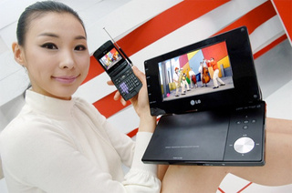 Doesn't She Look Thrilled About LG's First DTV Devices For The US
