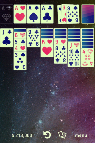 Download Awesome Solitaire, an Awesome iOS Solitaire Game Set In Space, For Free