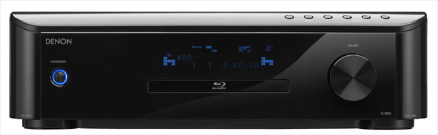 Denon S-5BD Blu-ray Player/Receiver is a Monster in a Box