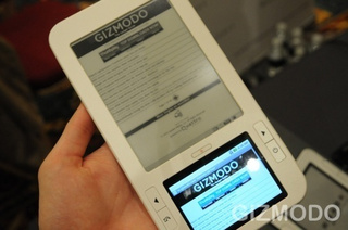 Spring Design Partners Their Alex E-Reader With Borders eBook Store