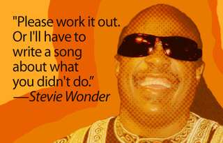 Stevie Wonder Continues to Be Awesome In the Name of Copyright Sanity