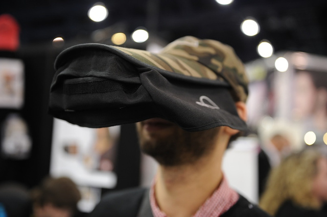 Review: The As-Seen-on-TV Hat, an iPhone-Viewing Visor