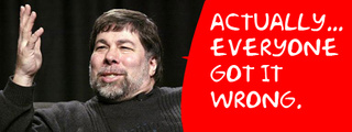 Hold it! The iPhone Is Still Steve Woz's Favorite