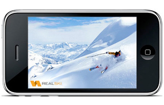 RealSki Augmented Reality iPhone App Might Save A Few Black Diamond-Chancing Lives