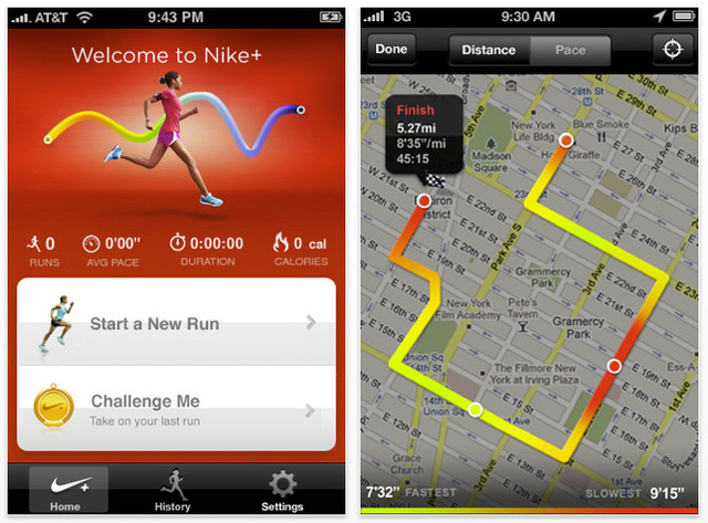 Nike+ GPS App Now Allows Everyone To Run, No Sensor Required