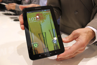 Samsung Galaxy Tab Hands-on Gallery