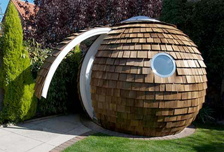 Archipod Is Pine Cone On the Outside, Apple Store On the Inside