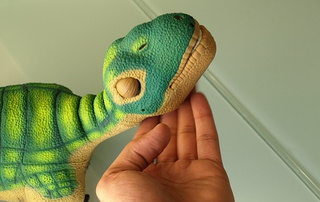 Pleo Brought Back From Extinction, Now Decide What Color He'll Wear Next