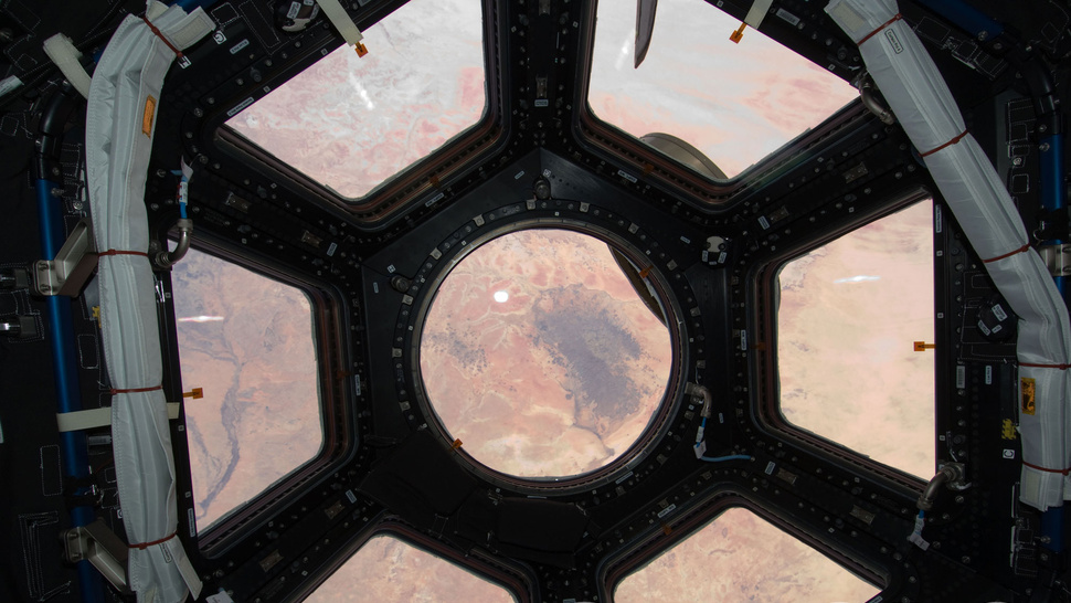 Astronauts Turn International Space Station Into TIE Fighter