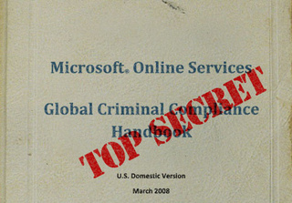 Microsoft to Stop Harrassing Secret Documents Site