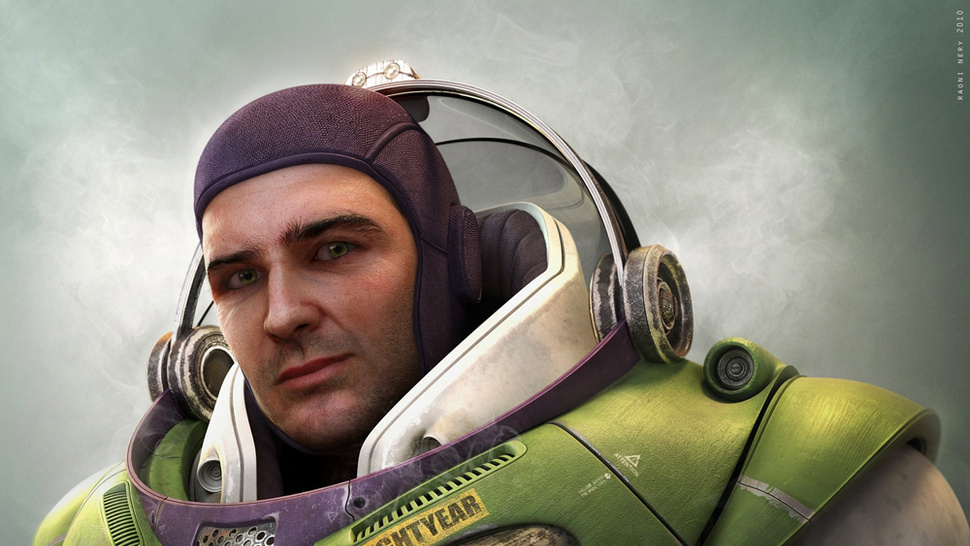 The Real Version of Buzz Lightyear