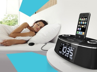 The iLuv Premium iMM178 Vibe Plus Alarm Clock Will Shake You Out of Bed