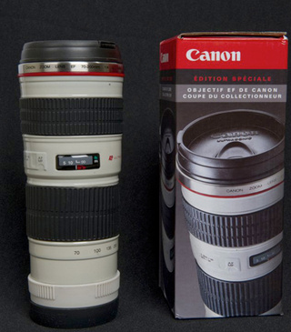 Greatest Swag In The History of Swagginess: The Canon Lens Thermos