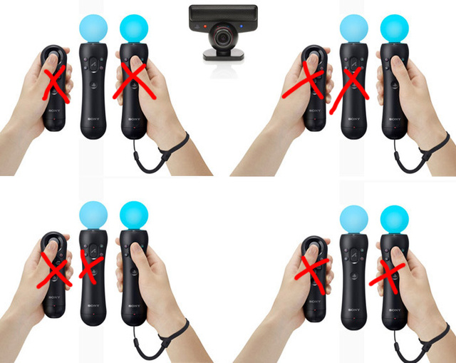 PlayStation Move Gimps 4-Player Support