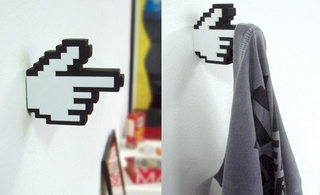 8-Bit Hangers Remind You There's Life Beyond Meatspace