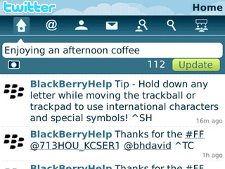 Twitter for BlackBerry Available Tonight