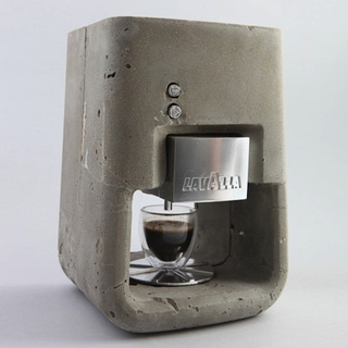 Concrete Espresso Machine Would Probably Be Difficult to Break